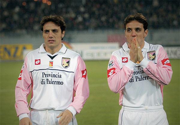 I gemelli Filippini, Antonio ed Emanuele, al Palermo
