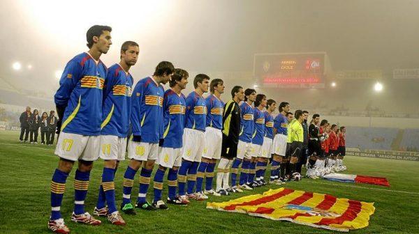 La nazionale di Aragona