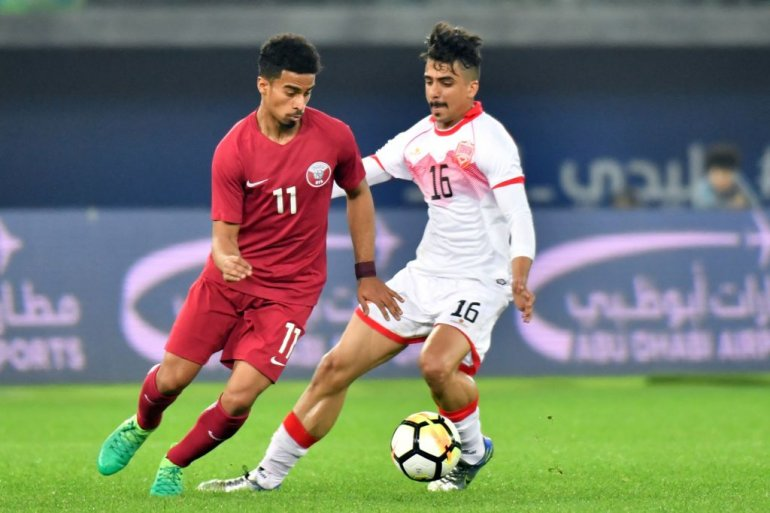 Reda Issa (Bahrein Football National Team) vs. Qatar