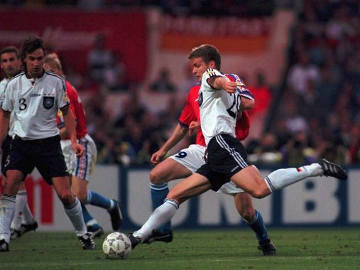 Europeo 1996: La contraddizione del golden goal