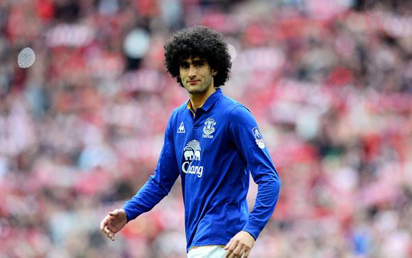 Fellaini all'Everton, suggerito da Football Manager