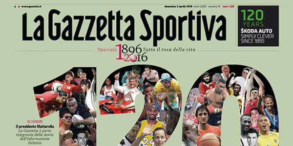 La Gazzetta dello Sport diventa verde