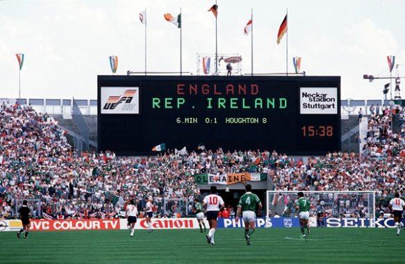 Europeo 1988: Irlanda, scacco alla Regina
