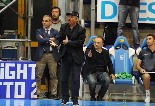 Leopoldo Capurso allenatore Kaos