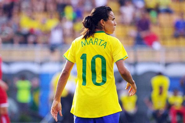 Marta, la miglior giocatrice di tutti i tempi
