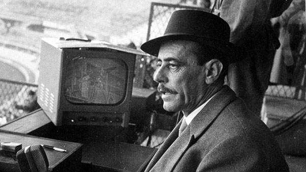 Nicolò Carosio giornalista sportivo