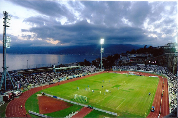 Stadio Kantrida, Rijeka Croazia