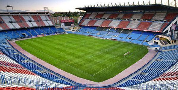 Lo Stadio Vicente Calderón di Madrid