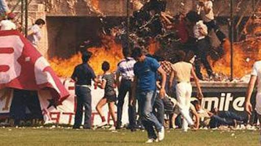 Strage del Ballarin: rogo allo stadio della Sambenedettese, 1981
