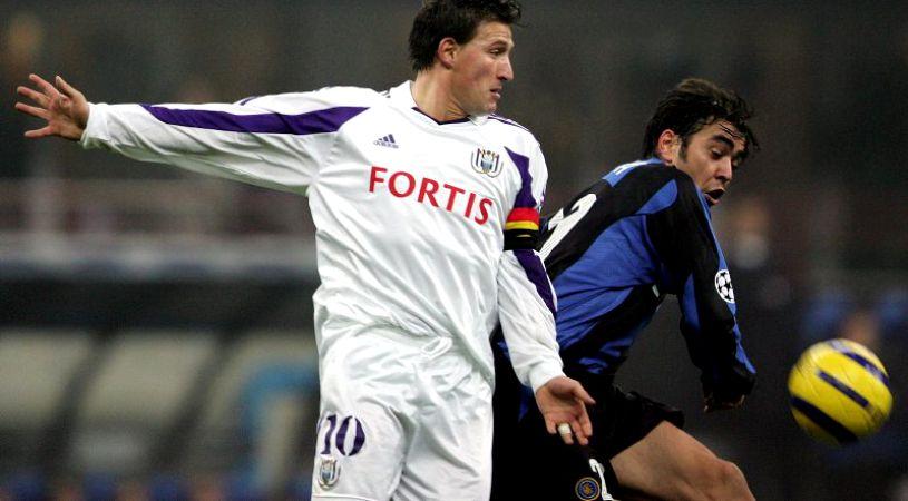 Walter Baseggio, Anderlecht Inter Champions League