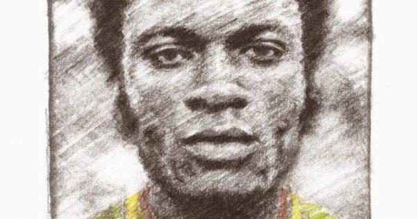 Bwanga ritratto a matita Zaire