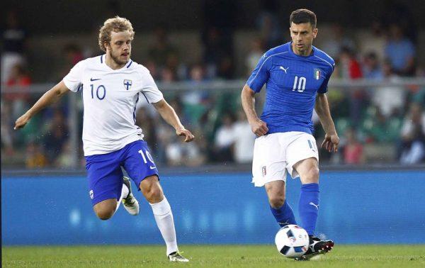 Thiago Motta, numero 10 azzurro all'Europeo 2016