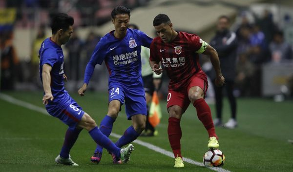 Shanghai derby tra Shenhua e SIPG