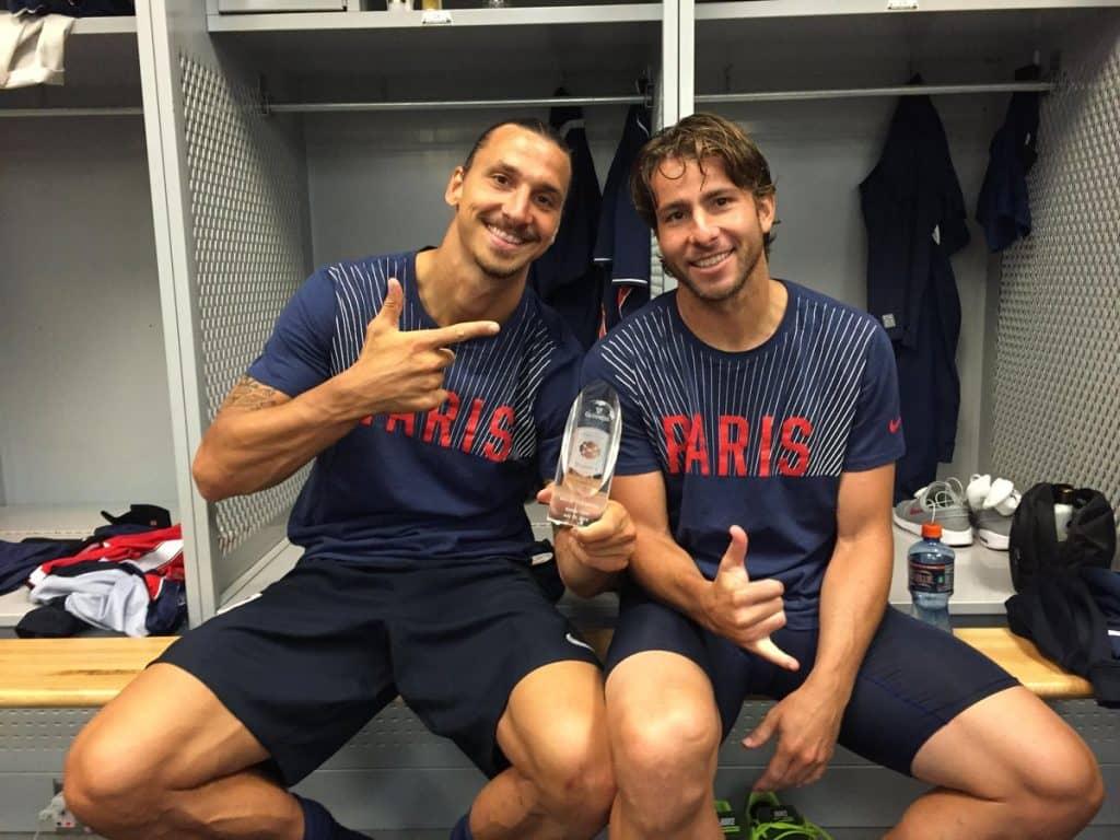 Le grandi coppie: Zlatan Ibrahimovic e Maxwell